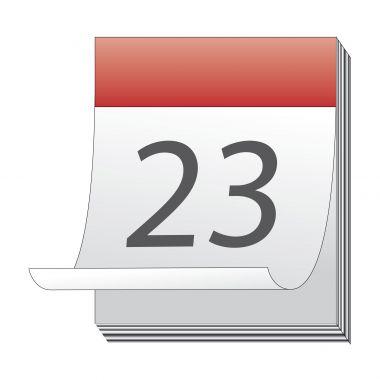 Illustration : calendrier périodes de vacances / absences.