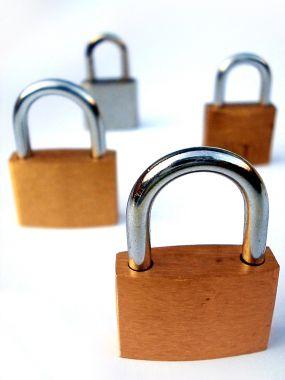 Illustration : accès protégé par mot de passe.